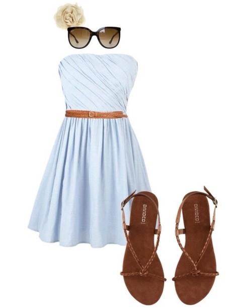 dress cute cute dress shoes style sandals jewels white dress