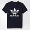Adidas trefoil tee - blue | adidas us
