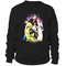 Filles a papa never forget printed sweatshirt