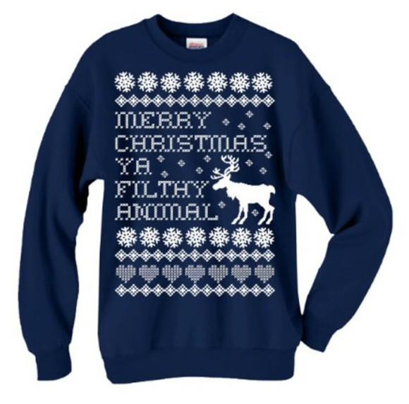 deer christmas christmas sweater