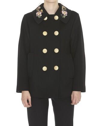 jacket embroidered jacket embroidered black