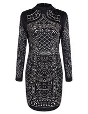dress,brenda-shop,black,black dress,little black dress,rhinestones,rhinestones dress,going out,special occasion dress,sexy dress,mini dress,long sleeves,sale,prom dress,chic,cute dress,vintage,vintage dress,top blogger lifestyle,studded,bodycon dress