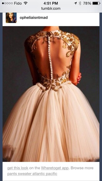 pearl prom dress gold formal dress evening dress couture dress haute couture tumblr lace dress