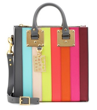 rainbow bag shoulder bag leather