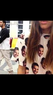 drake,t-shirt,top,shirt,drake t-shirt,ovoxo