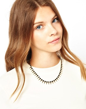 Ashiana | Ashiana Statement Spike Necklace at ASOS
