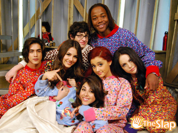 hearts pajamas candy onesie victorious