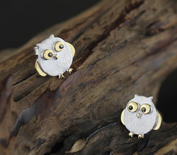 jewels 925 sterling silver owl