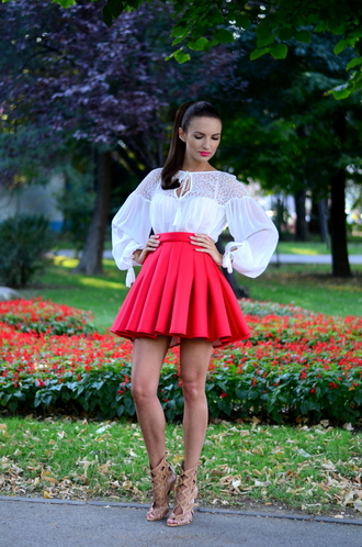 my silk fairytale blogger shirt skirt shoes bag