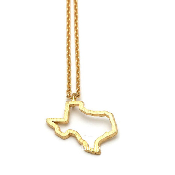 jewels jewelry texas necklace texas texas jewelry state necklace state jewelry