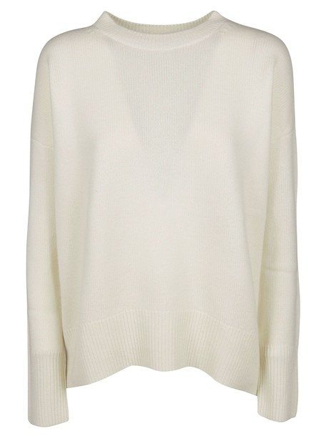 theory sweater white