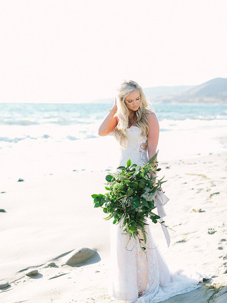 ruffled blog blogger beach wedding wedding dress dress