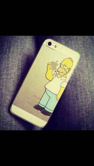 phone case iphone case the simpsons homer simpson