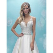 dress,bodice,high-low dresses,allure bridals 9016 vintage lacee,wedding dress