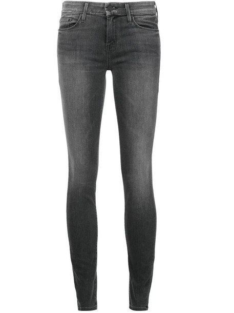 jeans skinny jeans women spandex cotton grey