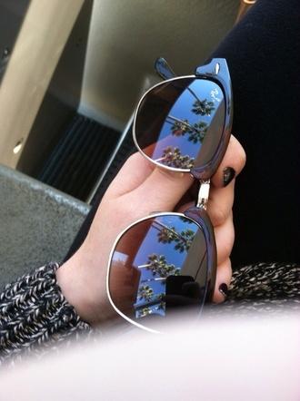 sunglasses vintage black 50s style ray ban sunglasses aviator sunglasses