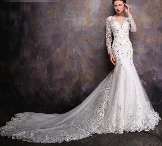dress, long sleeve wedding dress, lavender evening gowns, long ...