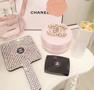 make-up chanel chanel inspired chanel bag pink