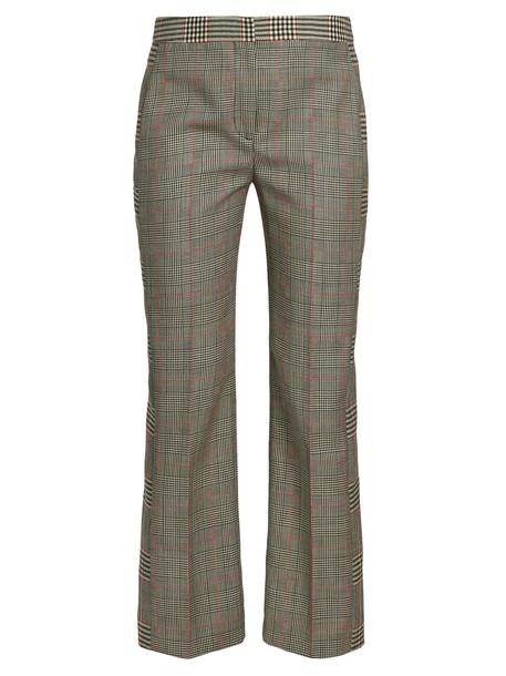 Alexander Mcqueen grey pants