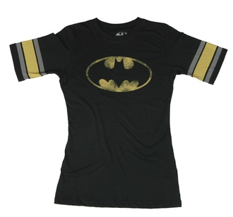 t-shirt batman black t-shirt black yellow batman shirt superhero