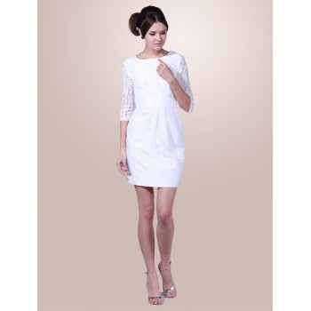 Short White Dresses With Long Sleeves