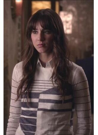 sweater top long sleeves fall outfits troian bellisario spencer hastings