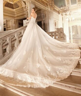 dress a line wedding dresses chapel train wedding dresses 2016 wedding dresses demetrios wedding dresses vintage lace wedding dress princess wedding dresses