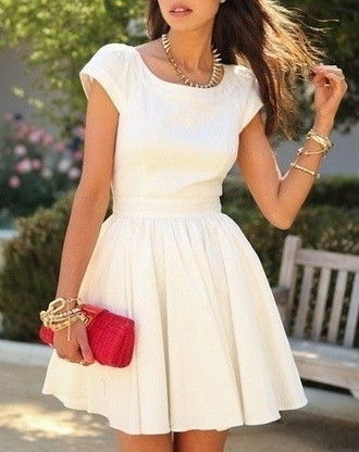 dress formal dress white dress amazing beautiful stuning me winter formal dress formal party small beige dress beige white short cute pretty winter outfits cold shoes tight bodycon dress clothes zaful fashion style skater dress classy jewelry streetwear girly