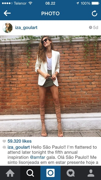 shoes knee high gladiator sandals izabel goulart nude sandals gladiators flat sandals knee high sandals