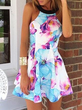 dress outfit fashion beautiful dresses love girly wishlist printed dress sammydress