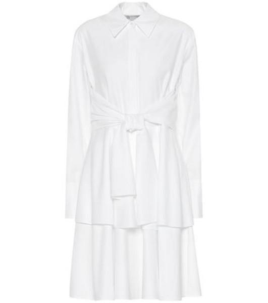 Stella McCartney Cotton shirt dress in white
