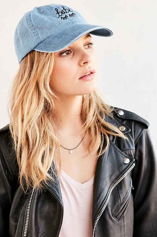 The Style Club Babe Denim Baseball Hat - Urban Outfitters
