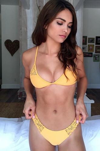 swimwear bikini bottoms cheeky frankies bikini orange bikiniluxe