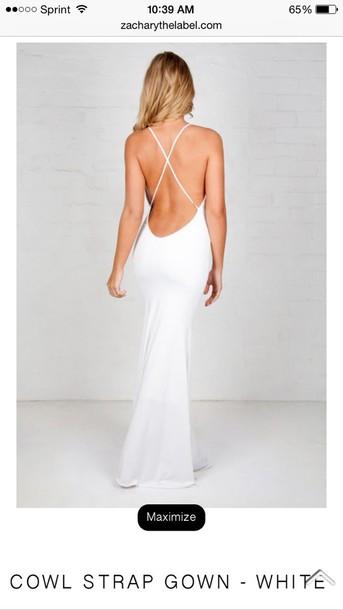 dress long dress backlesss prom dress bodycon dress red dress