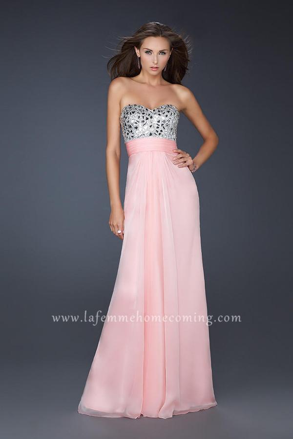 la femme dresses pink prom dress dress