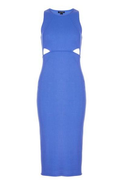 Topshop dress bodycon bodycon dress blue