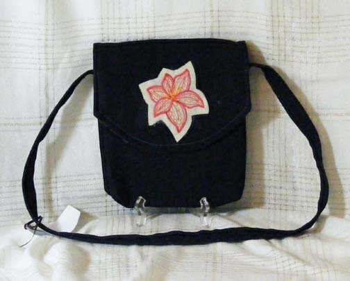 Flower Power Tote Bag Small Handbag