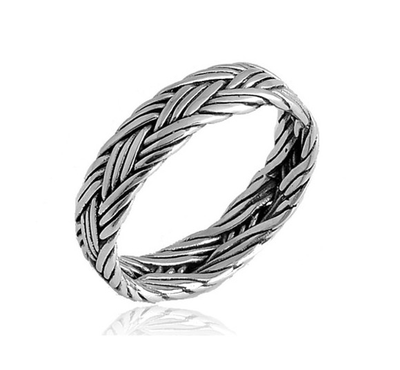 jewels ring 925 silver plaid ring 925 silver