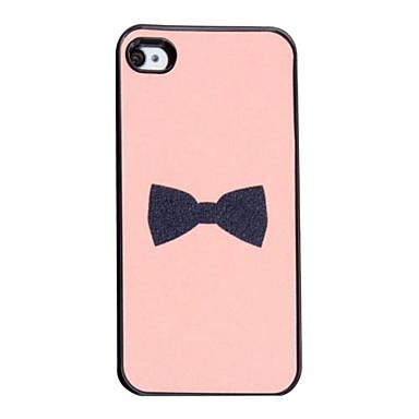EUR € 2.32 - Carcasa Dura de Corbatín para el iPhone 4/4S, ¡Envío Gratis para Todos los Gadgets!