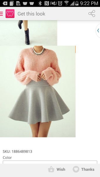 sweater pink sweater