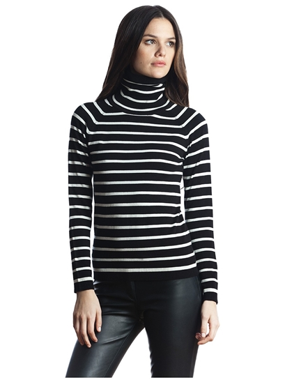 525 America stripe turtleneck, 525 America top, 525 America clothing