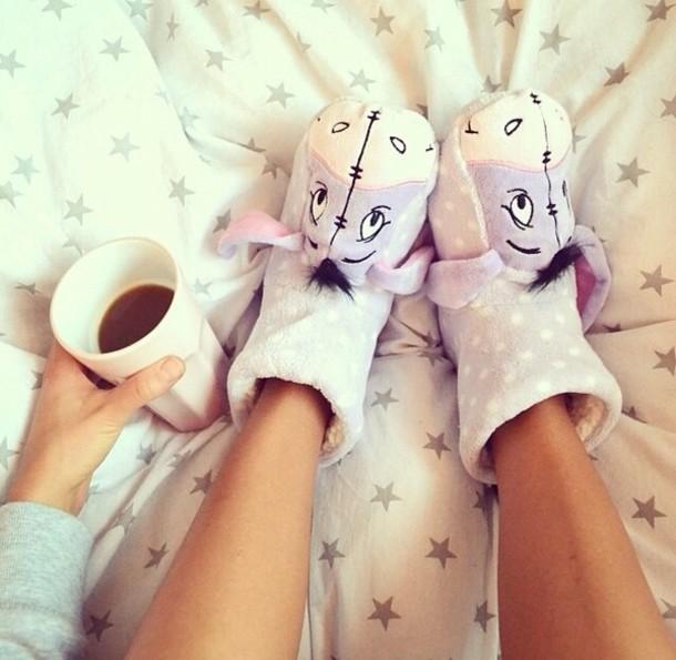 Shoes: purple, socks, cute, winnie the pooh, eeyore ...