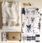 t-shirt,frenchie tshirt,french bulldog,pugs,pug tshirt,pattern,yeahbunny,iphone case,sweatshirt,frenchie print,print,printed sweater,blouse,phone cover,marble