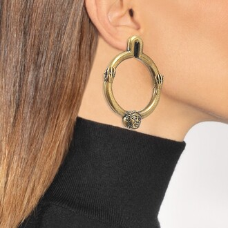 asymmetrical earrings jewels
