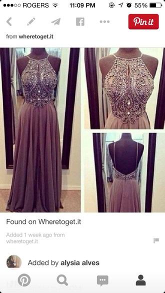 dress prom dress long dress sparkles beautiful