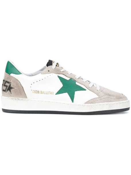 Golden Goose Deluxe Brand - Ball Star sneakers - women - Cotton/Leather/Suede/rubber - 35, White, Cotton/Leather/Suede/rubber
