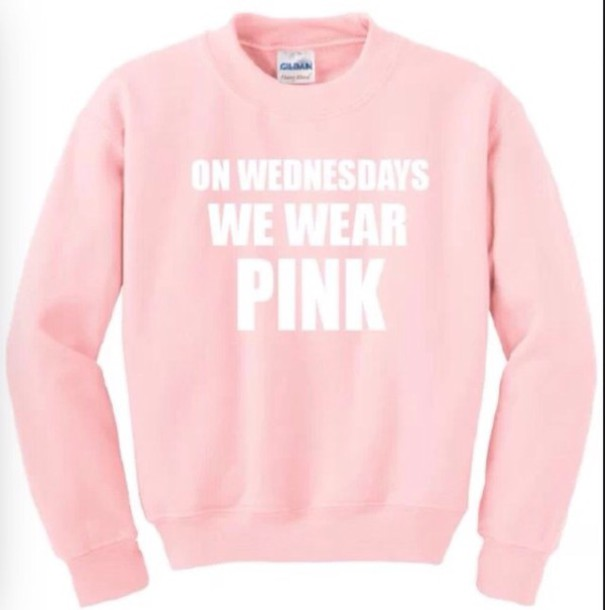 sweater junper mean girls mean girls quote