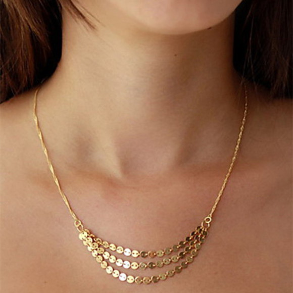 jewels gold necklace fine necklace