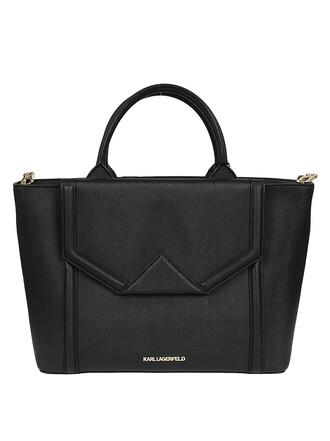 gold black bag