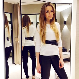 shirt white shirt kayture kristina bazan white blouse dolce and gabbana